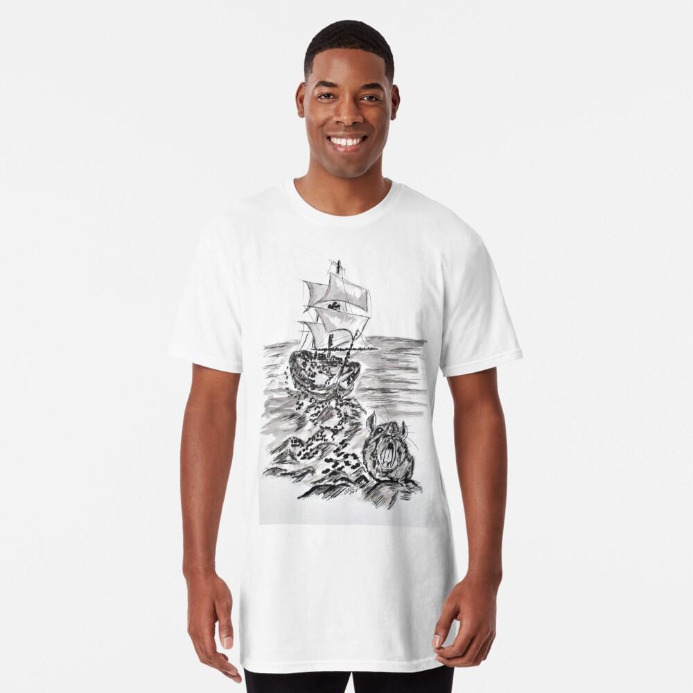 Escape Three Skeleton Key 3 of 4 Long T-Shirt
