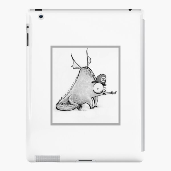 Fireman Dragon Sketch, Drippy the Dragon  iPad Snap Case