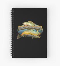 Freshwater Angler Spiral Notebook