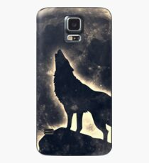Wolf, moon, fantasy, wild, dog, wolves Case/Skin for Samsung Galaxy