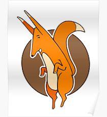 Dancing fox. Poster