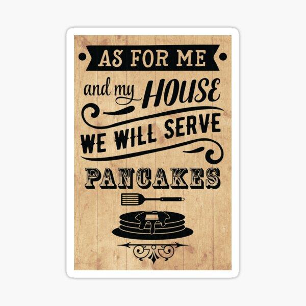 Serve Pancakes Sticker