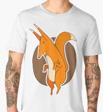 Dancing fox. Men's Premium T-Shirt