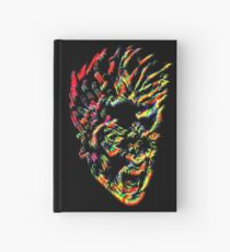 angry head Hardcover Journal
