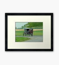 Country Ride Framed Print