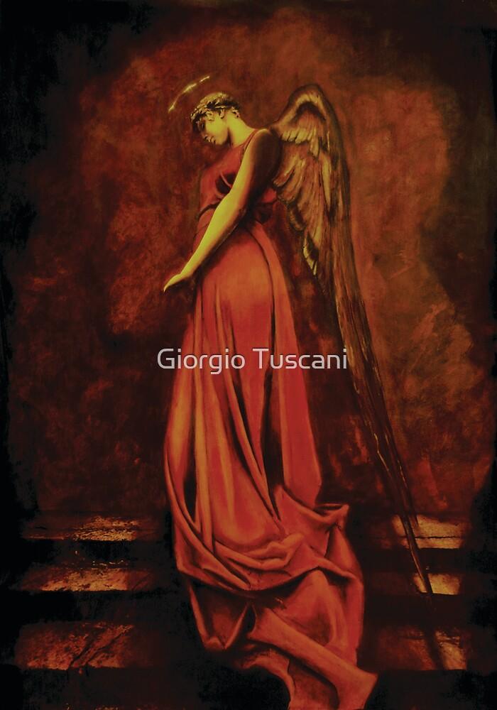 I have waited by these steps alone... A thousand Moons have come and gone... A thousand Tears have fallen...  by Giorgio Tuscani