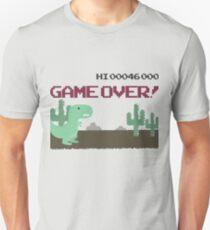 Gameover Dinosaur Unisex T-Shirt