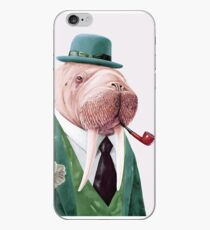 Walrus Green iPhone Case