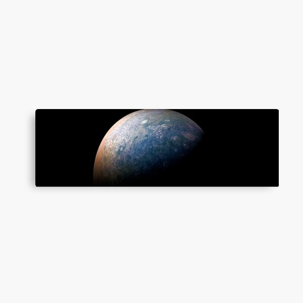 Jupiter, Perijove 12_80 Canvas Print