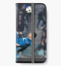 Cristiano Ronaldo vs juve iPhone Wallet/Case/Skin
