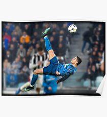 Cristiano Ronaldo vs juve Poster