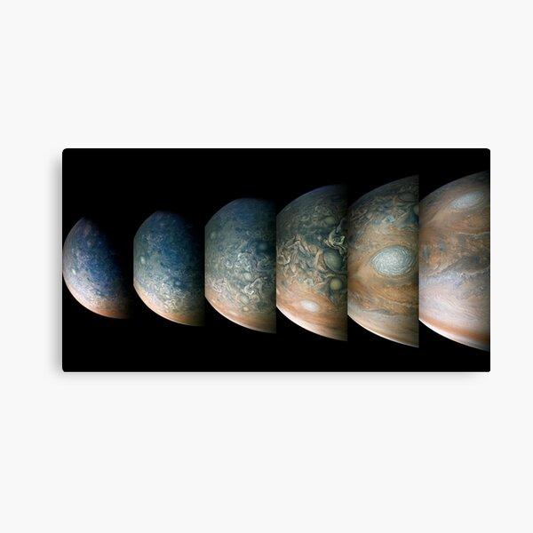 Jupiter, Perijove 12 part 1 Canvas Print
