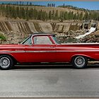 1959 Chevrolet El Camino at Little Falls Dam, Lincoln County, Washington, USA by Bryan D. Spellman
