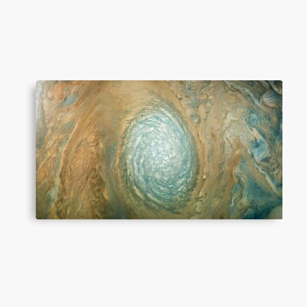 Jupiter, Perijove 12 - Anticyclonic White Oval WS-4 Canvas Print