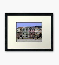The Neighborhood Framed Print