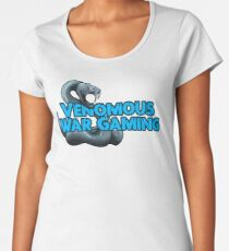 Venomous War Gaming Premium Scoop T-Shirt