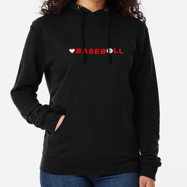 Love Baseball Bat Ball Games (Design Day 94)  Lightweight Hoodie