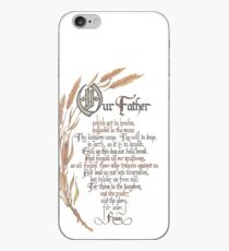 The Lords Prayer Matthew 6 9 iPhone Case