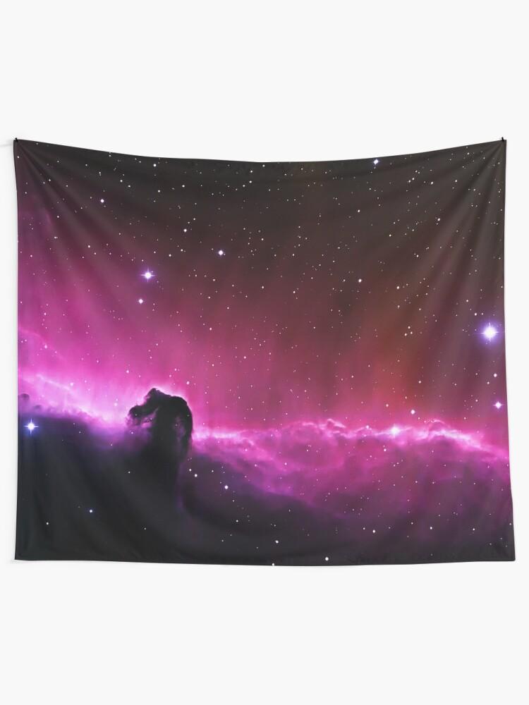 Alternate view of Horsehead Nebula Tapestry