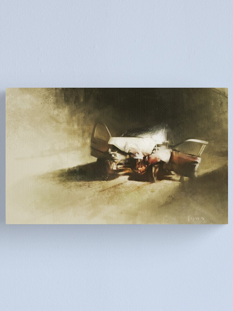 Alternate view of Wreck Canvas Print