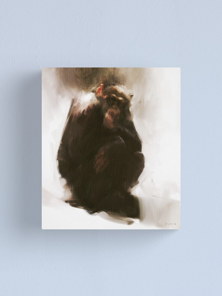 Alternate view of Ape Canvas Print