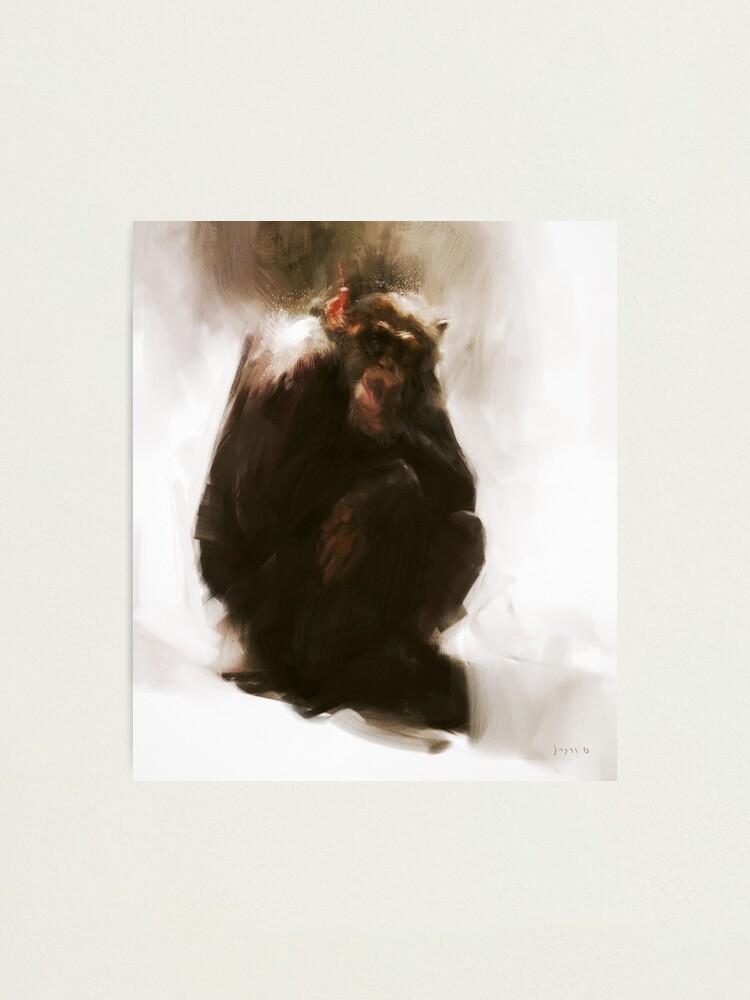 Alternate view of Ape Photographic Print