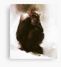 Ape Canvas Print