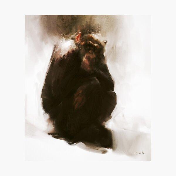 Ape Photographic Print