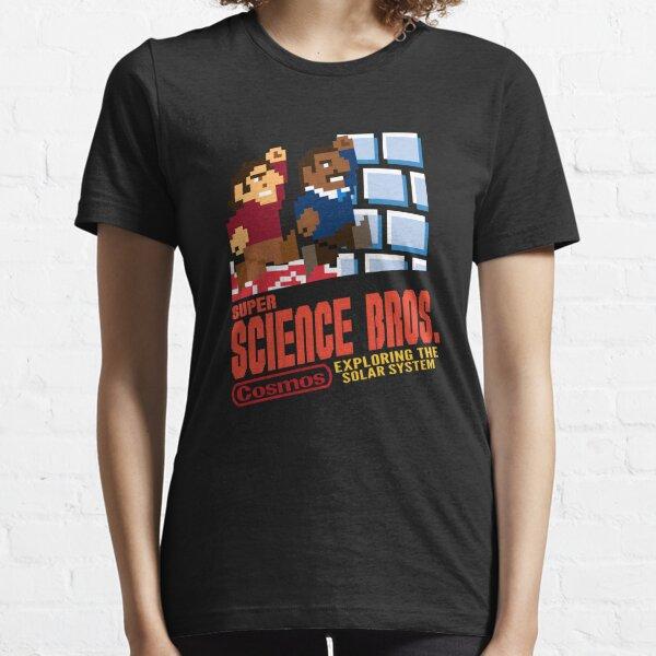 Super Science Bros Essential T-Shirt