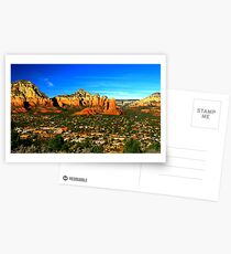 The Town of Sedona Postcards