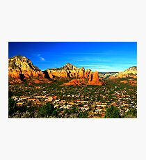 The Town of Sedona Photographic Print