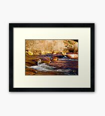 Oak Creek | Sedona, Arizona Framed Print