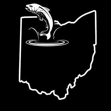 Fish Trout Ohio Redband Trout Lake Trout by shoppzee