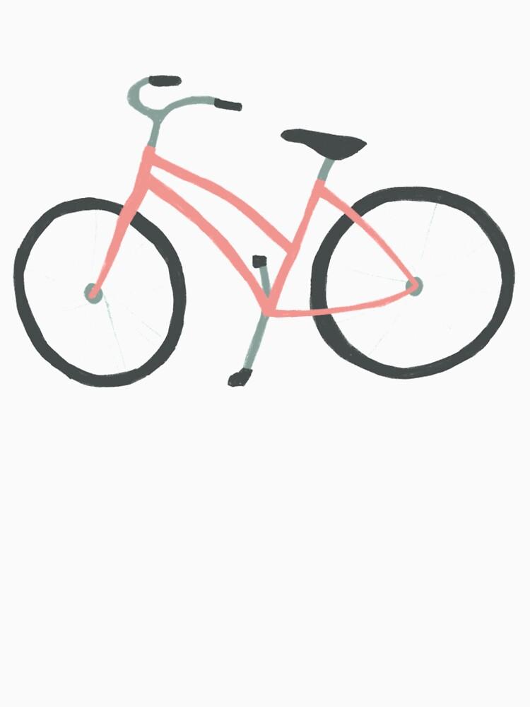 Charming pink bicycle pattern by shoshannahscrib