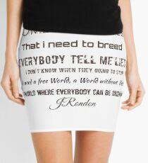 Sometimes i feel   Mini Skirt