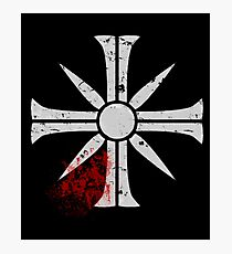 Eden's Gate Bloodsplat FarCry5 Design Photographic Print