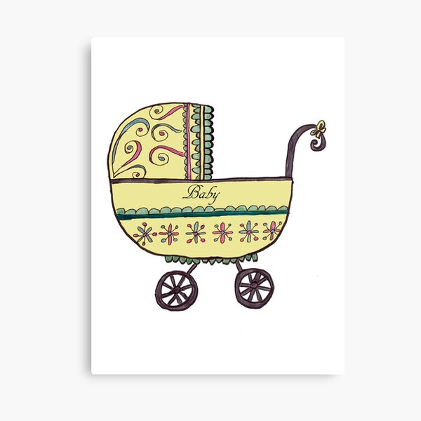 For Baby Canvas Print