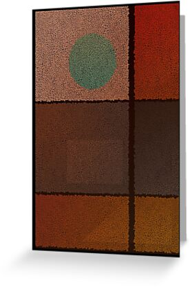 Tertiary Mosaic - Abstract 001 by Erno Veen