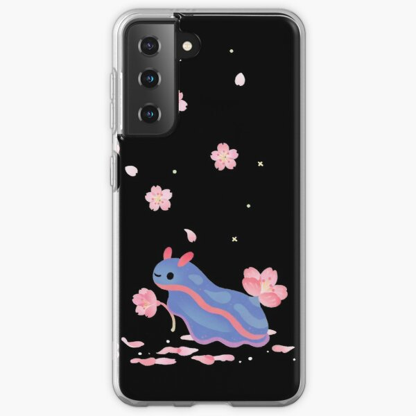 Cherry blossom slug Samsung Galaxy Soft Case