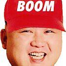 Kim Jong Un - Boom (maga) Hat by Thelittlelord
