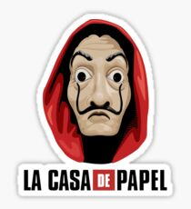 Money Heist Sticker