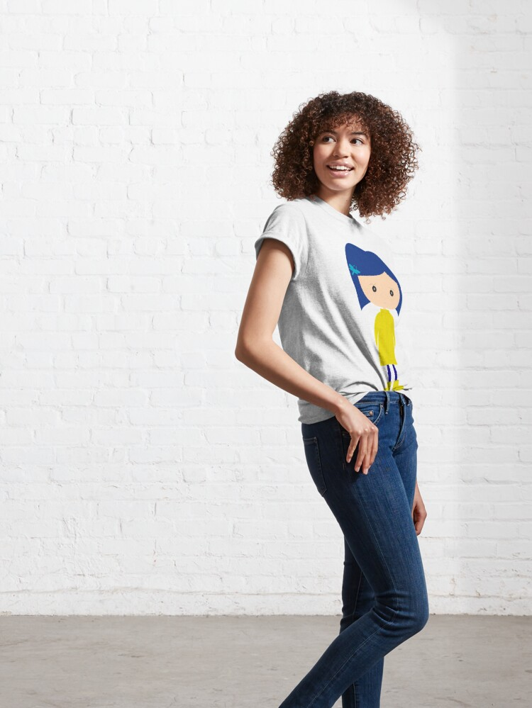 Vista alternativa de Camiseta clásica Coraline