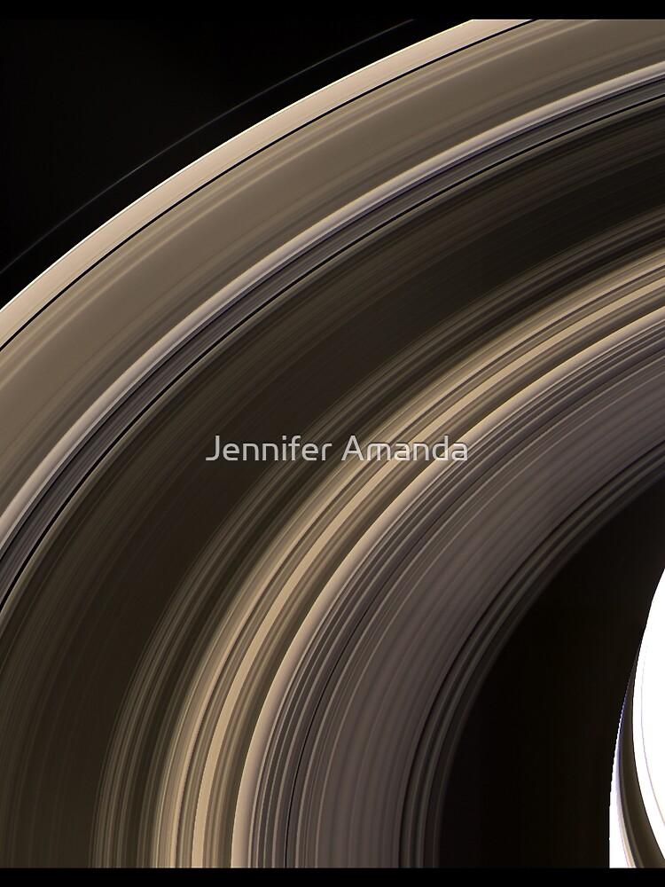Saturn's Rings by bworldsllc