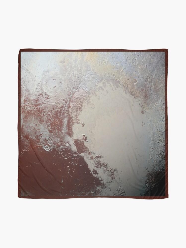 Alternate view of Pluto Scarf