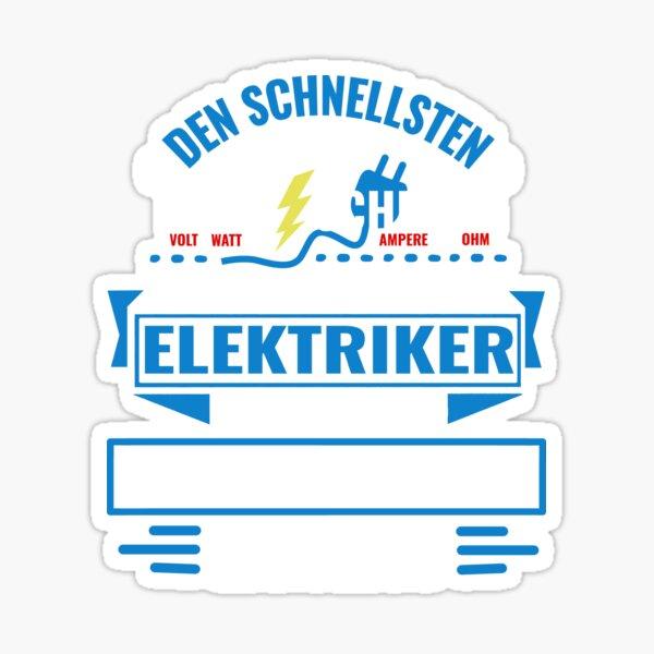 OERLINGHAUSEN - Wir haben die besten Elektriker, keine bekommt es so schnell hin. Sticker