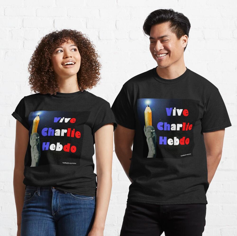 Vive Charlie Hebdo Classic T-Shirt