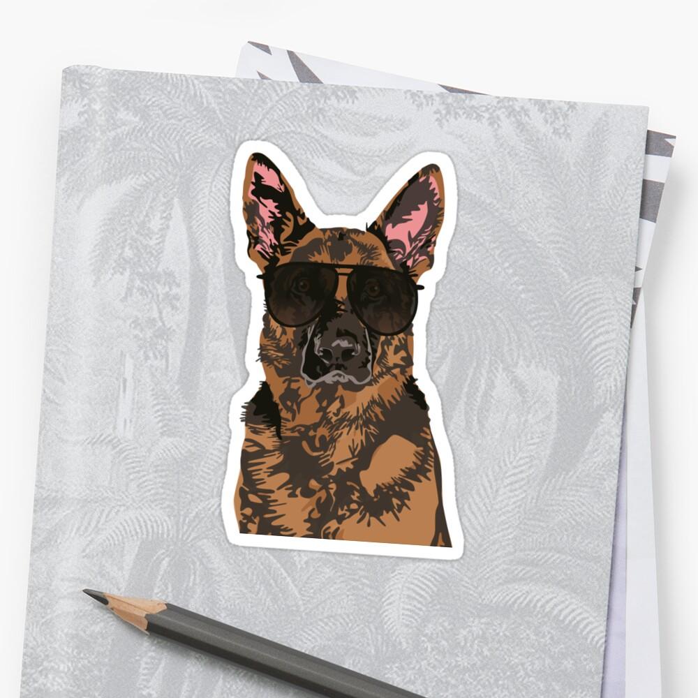 Cool German Shepherd for German Shepherd Lovers by haidishabrina