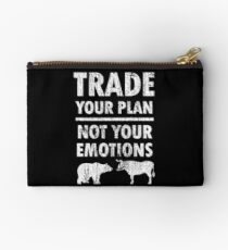 Trade Your Plan Zipper Pouch
