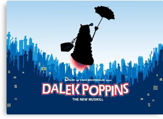 Dalek Poppins  by ToneCartoons