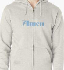 Rich Brian - Amen Blue Zipped Hoodie